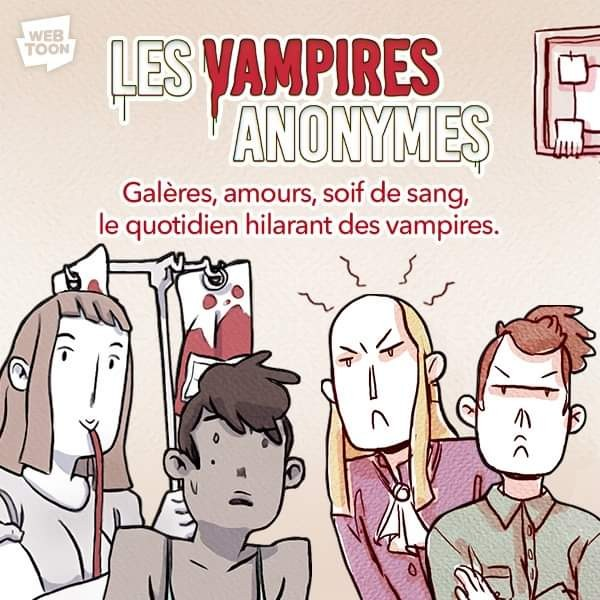 Couverture Vampires Anonymes